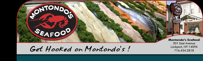 Wholesale and retail seafood: Montondo's Seafood